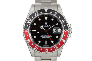 1990 Rolex GMT 16710 with Coke Insert photo