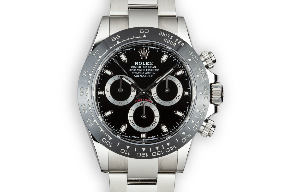 2018 Rolex Ceramic Daytona 116500LN Black Dial with Box and Papers photo, #0