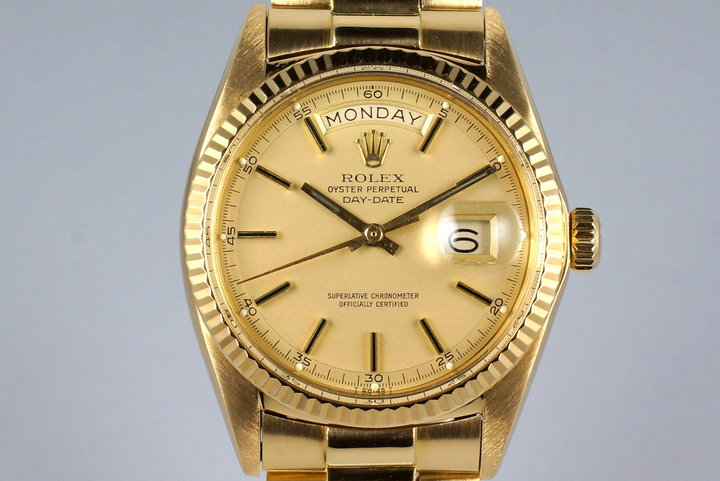 1971 Rolex YG Day-Date 1803 Champagne Dial photo
