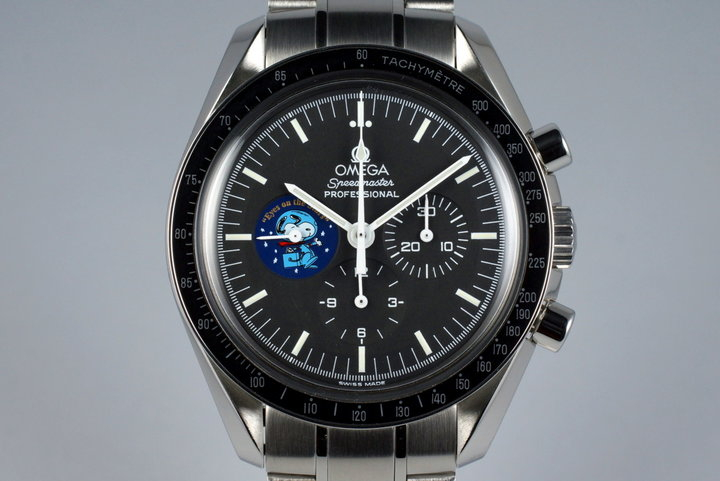 2003 Omega Speedmaster Snoopy Award 3578.51 with Box and Papers photo