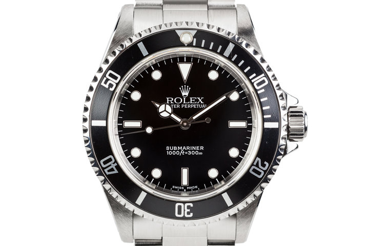 2003 Rolex Submariner 14060 photo