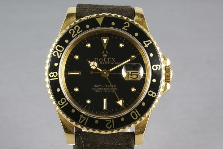 GMT 18K with Black Nipple Dial 16758 photo