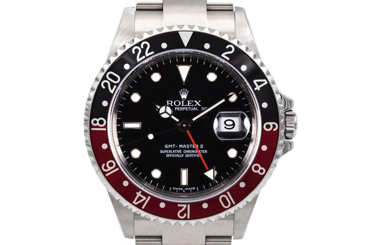2006 Rolex GMT II 16710 photo