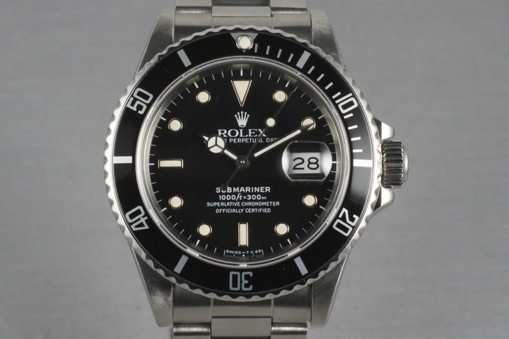 Rolex Submariner 168000 photo