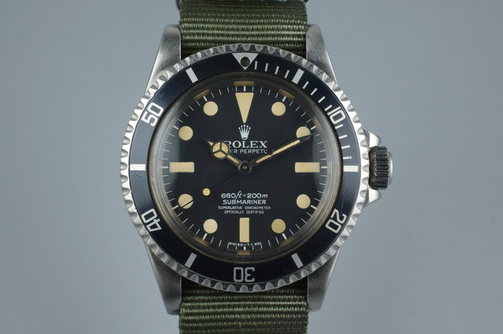 1978 Rolex Submariner 5512 Mark 1 Maxi photo
