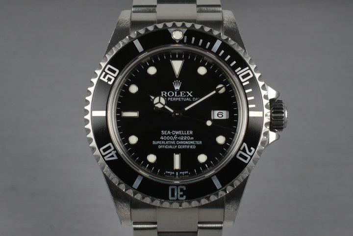 2005 Rolex Sea Dweller 16600T photo