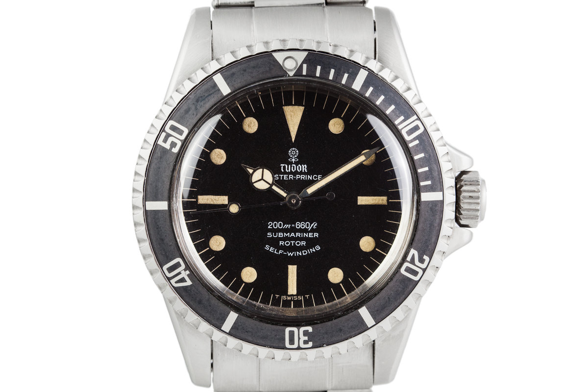1968 Tudor Submariner 7016/0 with Swiss Rivet Band photo, #0