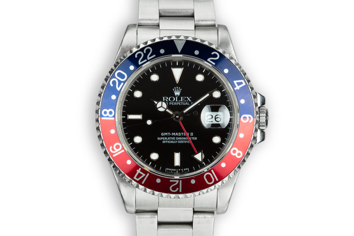 "1991 Rolex GMT-Master II 16710 ""Pepsi"" photo"