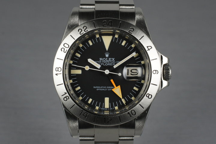 1983 Rolex Explorer II 1655 with Mark V Dial photo