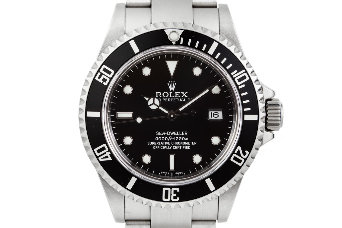 2005 Rolex Sea Dweller 16600 photo, #0