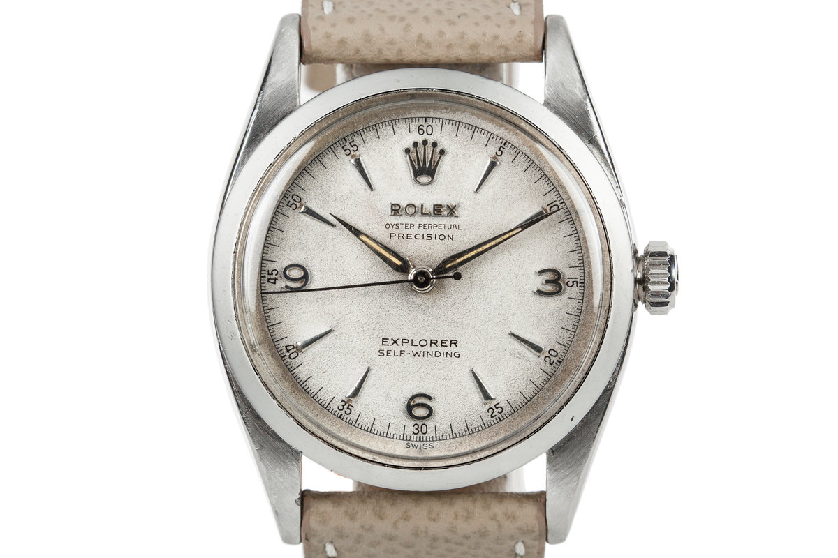 1953 Rolex Oyster Perpetual Explorer 6298 Swiss Only Dial photo, #0