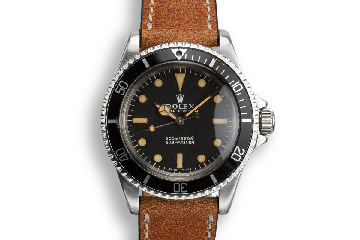 1965 Rolex Submariner 5513 with Meters First Dial photo, #0