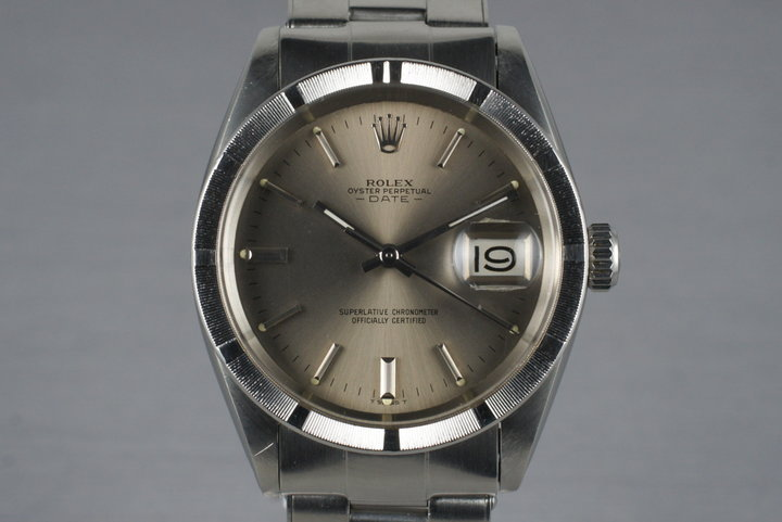 1970 Rolex Date 1501 with Gray Dial photo
