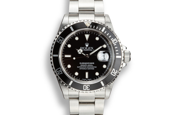 1999 Rolex Submariner 16610 photo