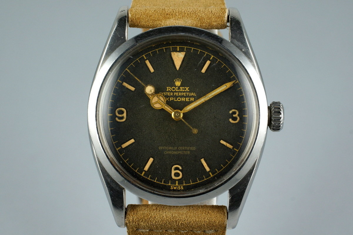 1956 Rolex Explorer 1 6610 photo, #0