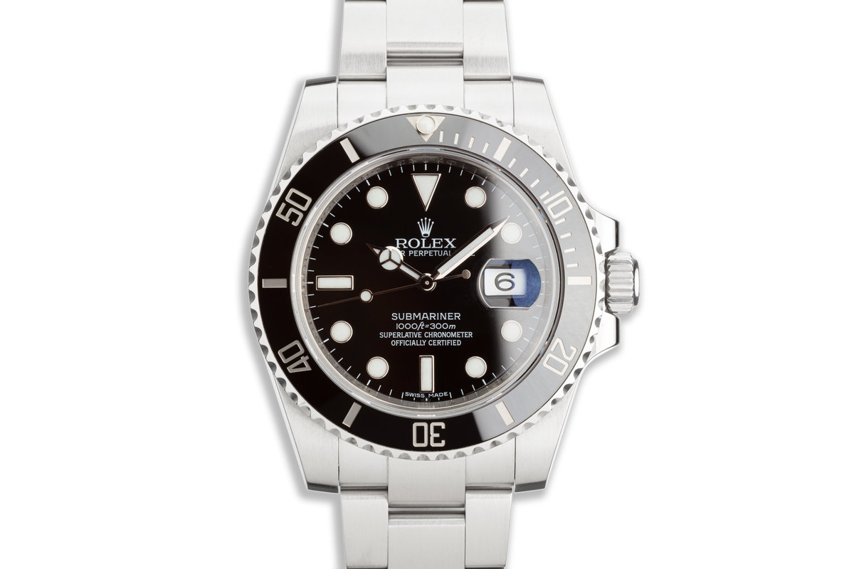 2012 Rolex Ceramic Submariner 116610 with Box and Papers photo, #0