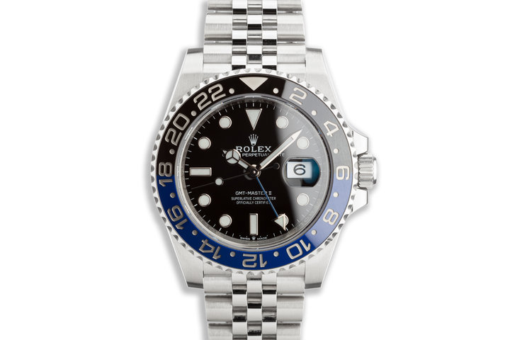 """2020 Rolex GMT-Master II 126710BLNR """"Batman"""" with Box and Card photo"""