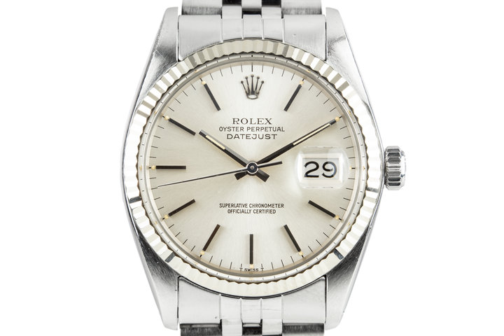 1978 Rolex DateJust 16014 Silver Dial photo