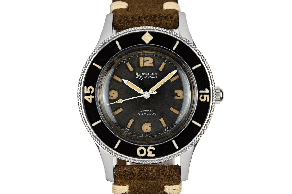 Blancpain Fifty Fathoms Gilt Aqualung Rotomatic INCABLOC photo, #0