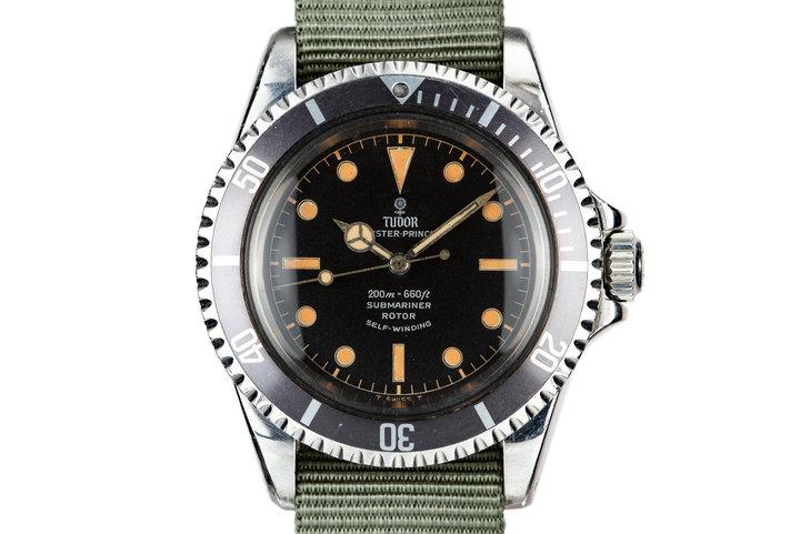 1964 Tudor Submariner 7928 Gilt Dial photo