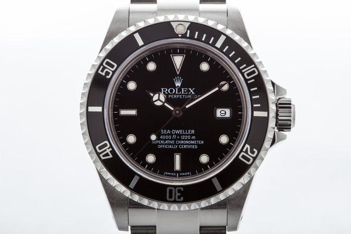 2000 Rolex Sea Dweller 16600  photo