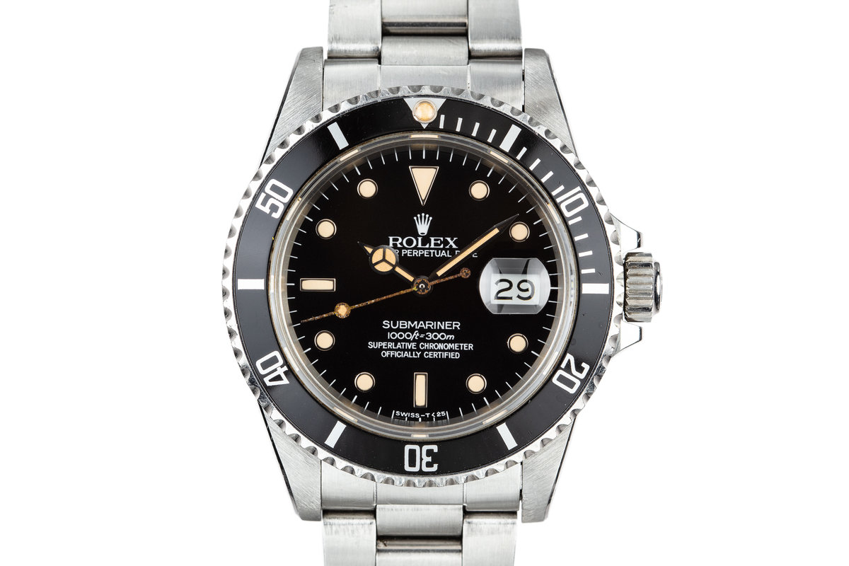 1984 Rolex Submariner 16800 photo, #0
