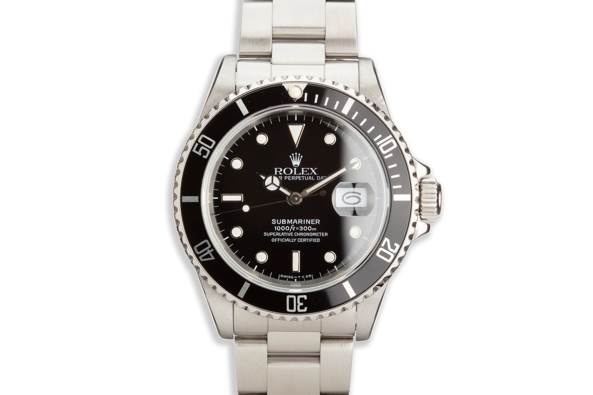 1989 Rolex Submariner 16610 photo, #0