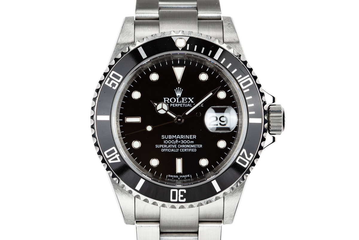 "2009 Rolex Submariner 16610 ""V serial"" photo, #0"