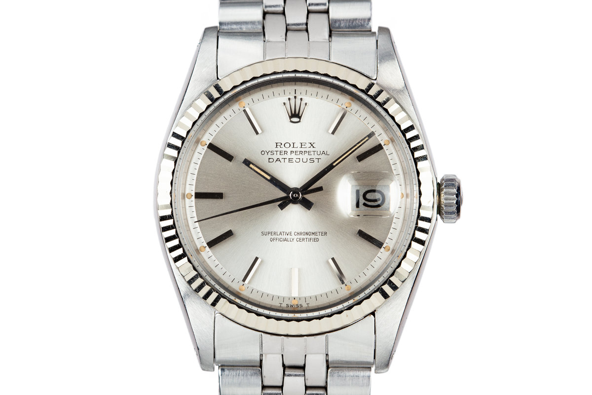 1972 Rolex DateJust 1601 Silver Dial photo, #0
