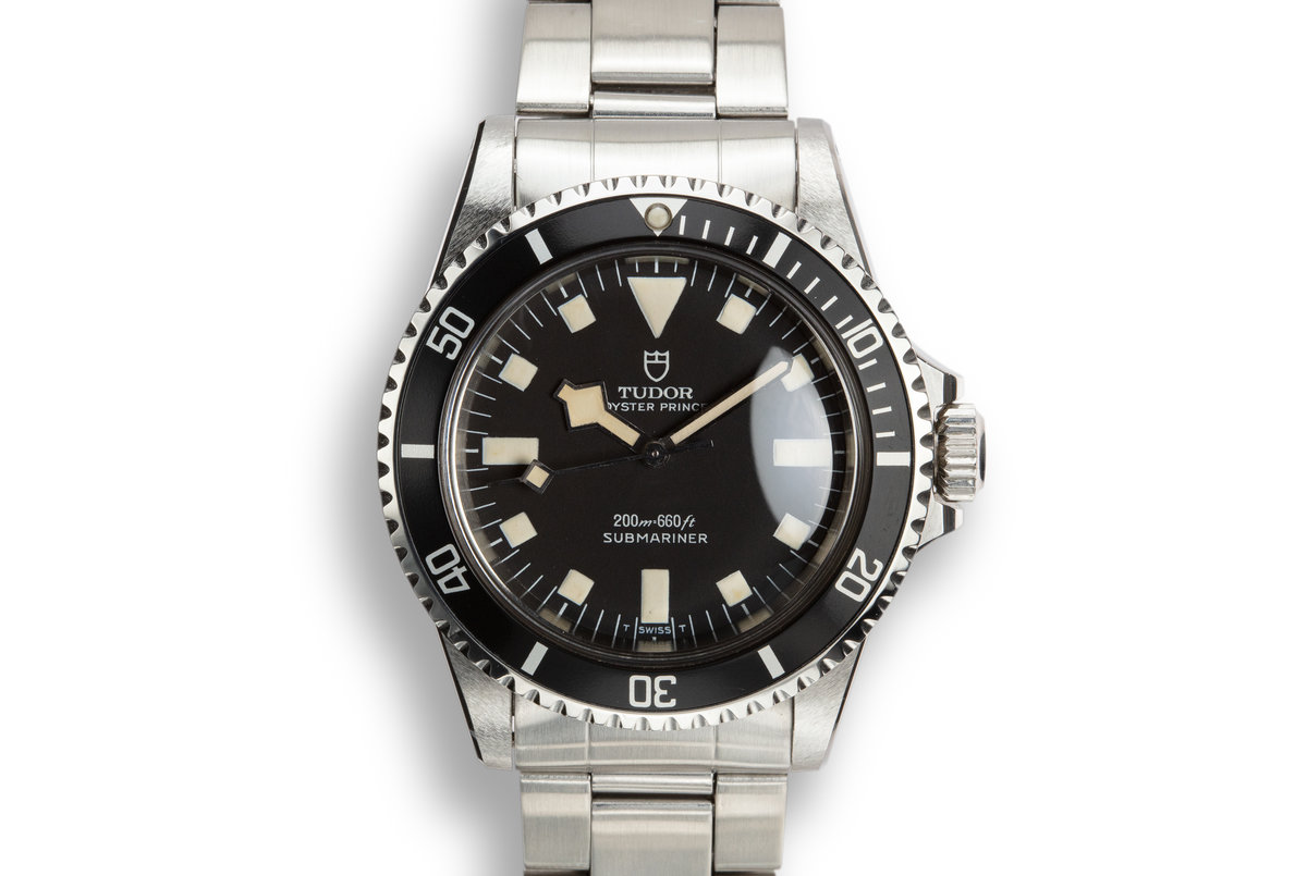 1970 Tudor Snowflake Submariner 7016/0 Black Dial with Box photo, #0