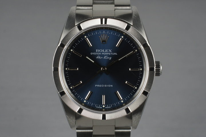 1999 Rolex Air-King 14010 Blue Dial photo