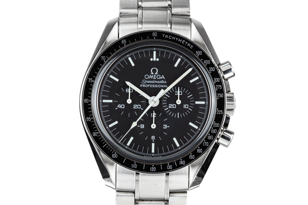2005 Omega Speedmaster Professional 3573.50 with Cards photo, #0
