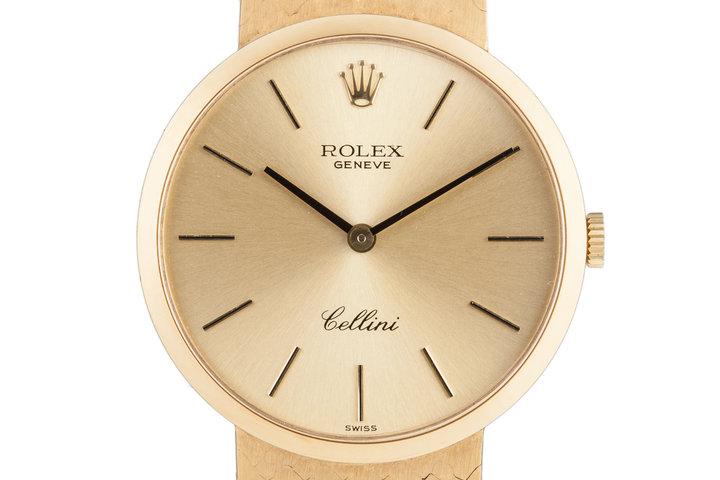 1972 Rolex 18K Cellini photo