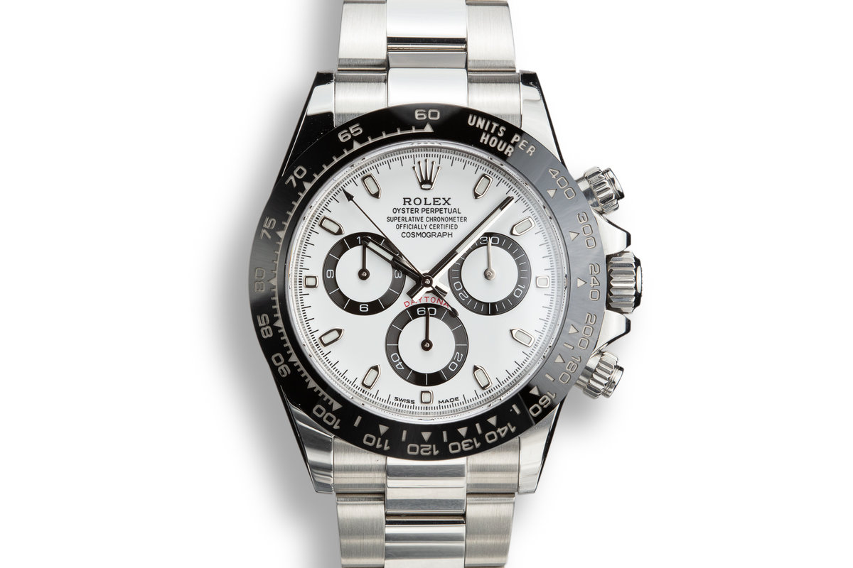 2017 Rolex Daytona 116500LN White Dial with Box and Papers photo, #0