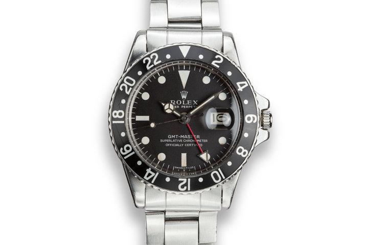 1976 Rolex GMT Master 1675 photo