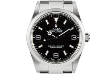 2002 Rolex Explorer 14270 photo