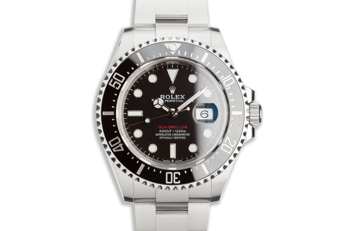 2019 Rolex Red Sea-Dweller MK 2 126600 with Box and Card photo, #0