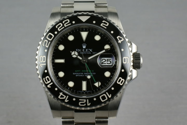 Rolex Ceramic GMT 116710 Box and Papers photo