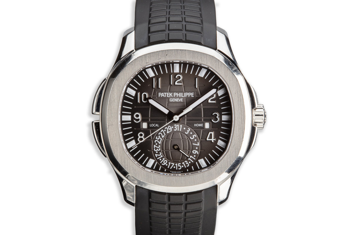 2016 Patek Philippe Aquanaut 5164A-001 Travel Time photo, #0
