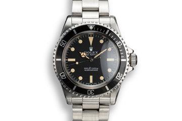 1970 Rolex Submariner 5513 Serif Dial photo