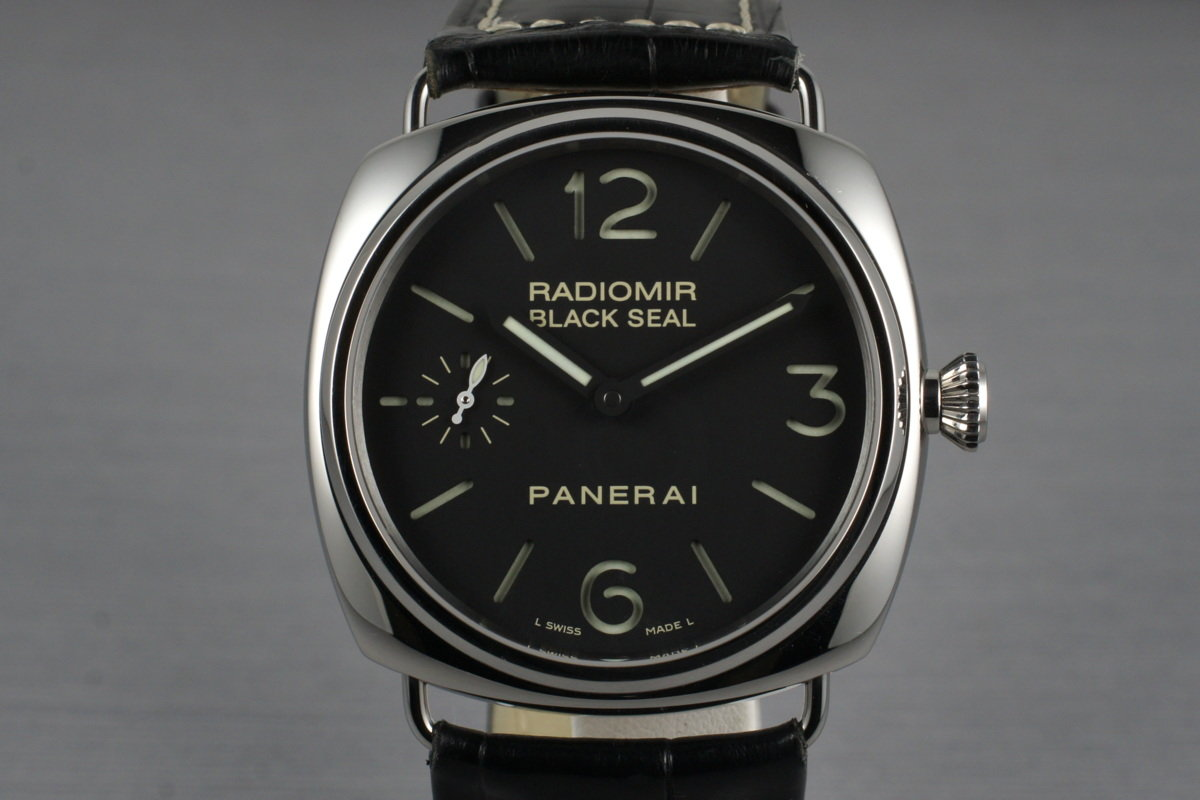 2007 Panerai Radiomir Black Seal PAM 183 with Box and Papers photo, #0