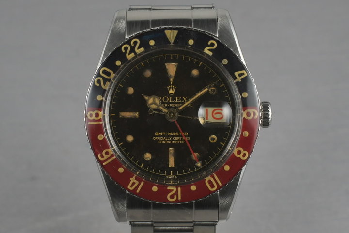 1959 Rolex GMT 6542 with Bakelite Bezel photo