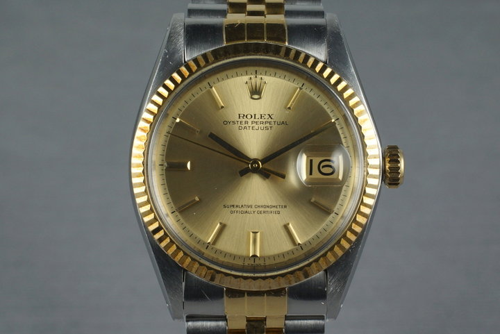 1969 Rolex Two Tone Datejust 1601 photo