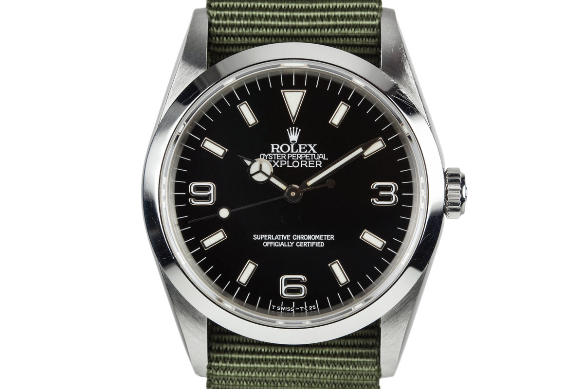 1991 Rolex Explorer 14270 with Service Papers photo, #0
