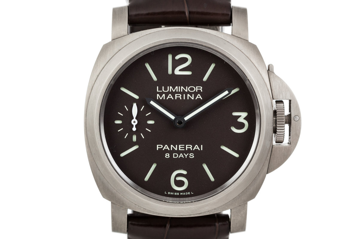 Panerai Luminor Marina 8 Days Ttitanio PAM00564 photo, #0