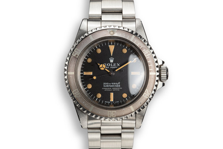 1968 Rolex Submariner 5512 with Meters First Dial photo