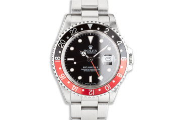 "1988 Rolex GMT-Master II 16710 ""Coke"" Bezel photo"