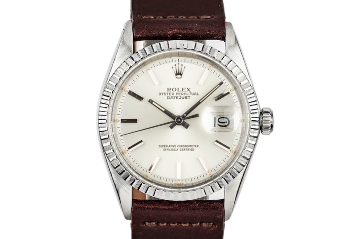 1972 Rolex DateJust 1603 Silver dial photo