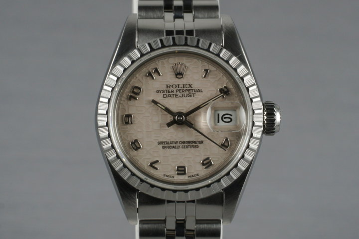 1988 Rolex Ladies Datejust 69240 with Arabic Jubilee Dial photo