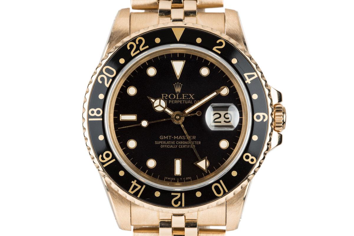 1986 18K Rolex GMT-Master 16758 photo, #0